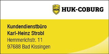 Kundendienstbüro Kar-Heinz Strobl Bad Kissingen, HUK Coburg