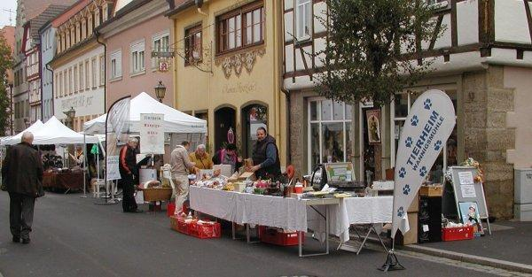 erfolgreicher Herbstmarkttag in Münnerstadt