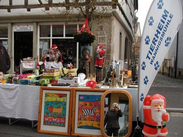 Charity-Weihnachtsmarkt in Münnerstadt