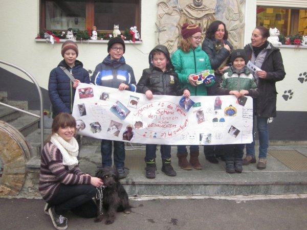 Spendenübergabe Grundschule Herschfeld