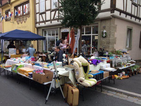 Charity-Team Münnerstadt anläßlich Schutzengelmarkt wieder erfolgreich