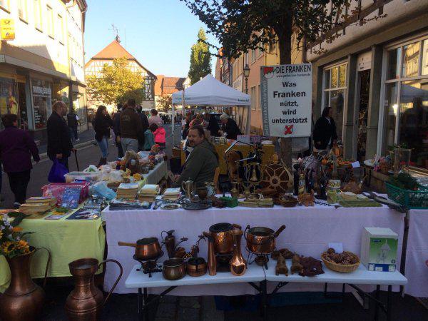 Herbstmarkt in Münnerstadt