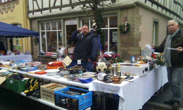 Charityteam Münnerstadt am Adventmarkt